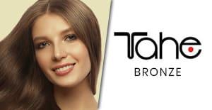 productos tahe bronze en la tienda de peluqueria